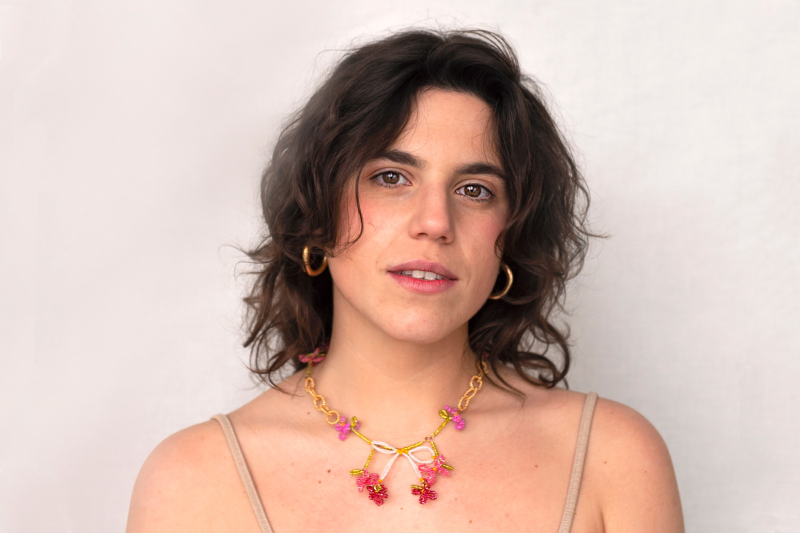 Mateu-lo Jewelry Brand Beaded Necklace Choker Sustainable Upcycled
