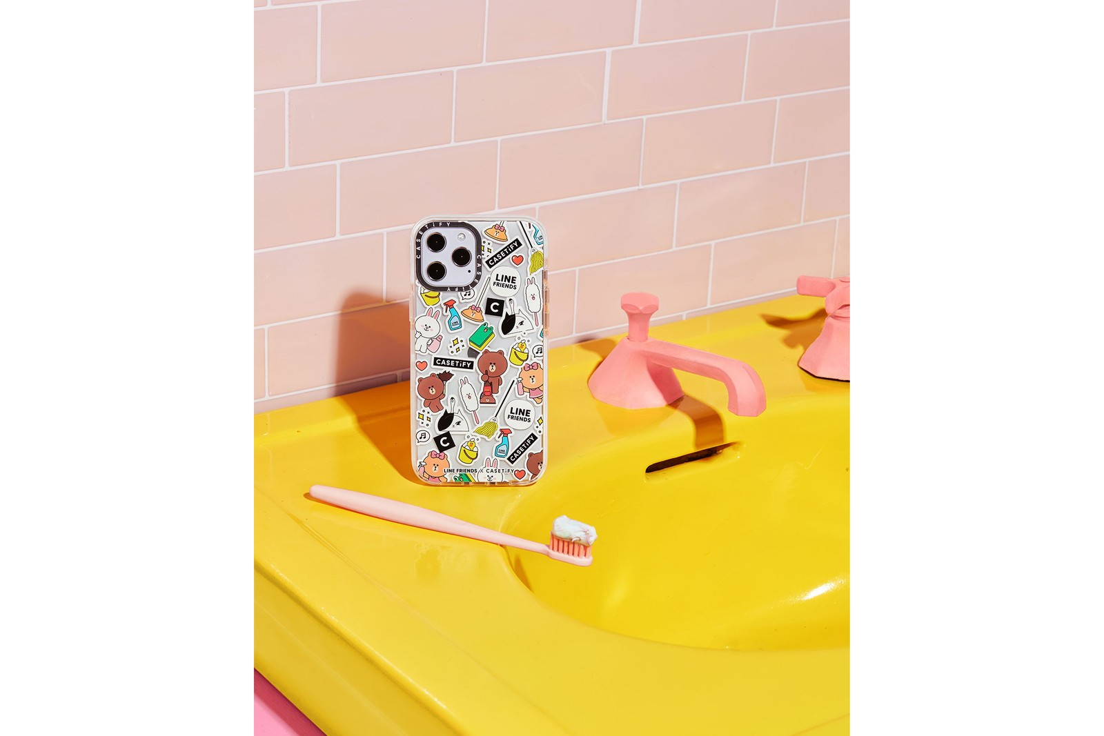 LINE FRIENDS x Casetify Phone iPhone Case Collaboration Collection