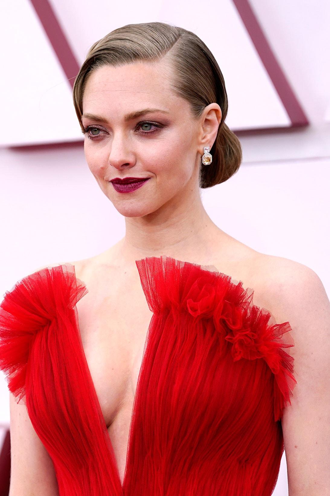 oscars 93rd academy awards best beauty red carpet looks hair makeup zendaya her