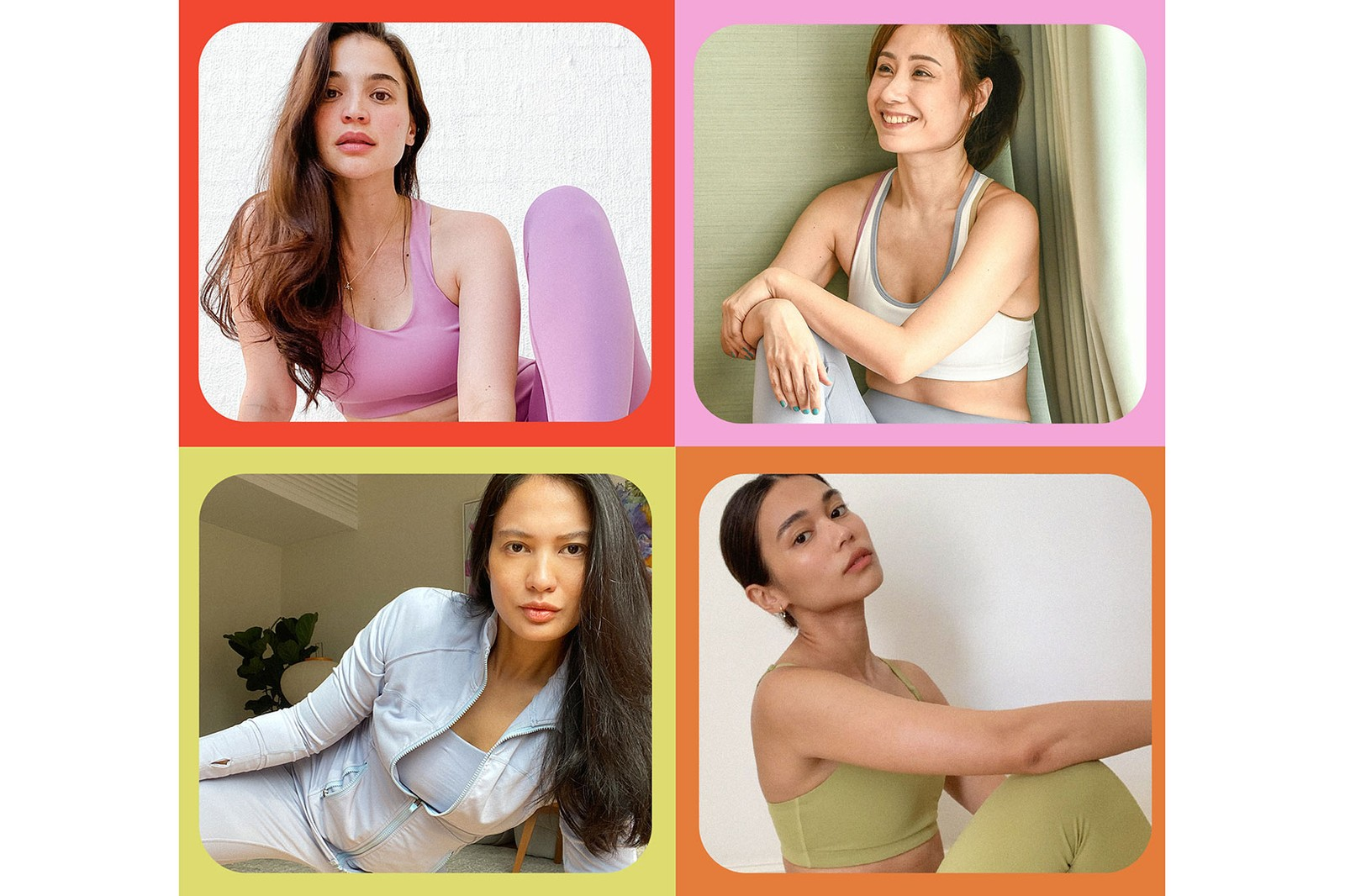 Recess Activewear Philippines Sports Bras Leggings Anne Curtis Isabelle Daza Paulina Ortega Roxanne Farillas