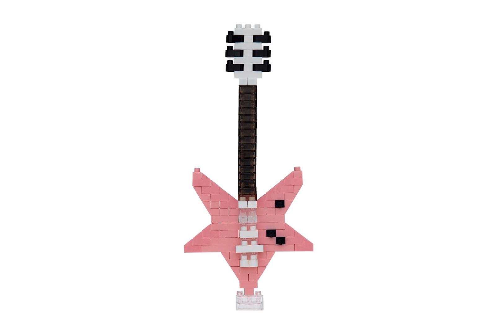 saint laurent nanoblock figures toys star guitar french bulldog rive droite anthony vaccarello