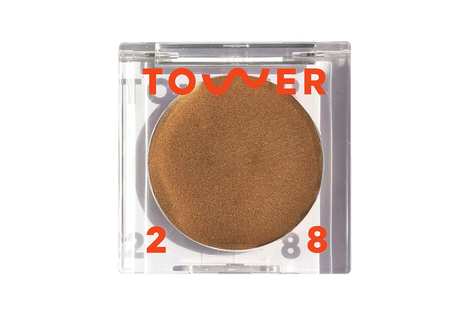 tower 28 Bronzino Illuminating Cream bronzer makeup new shades sun gold pacific coast clean beauty