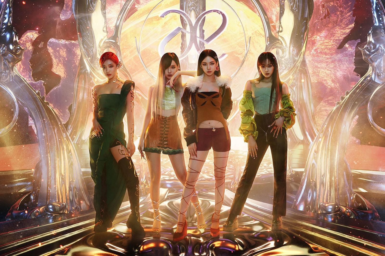aespa next level single release concept image ningning karina winter giselle k-pop