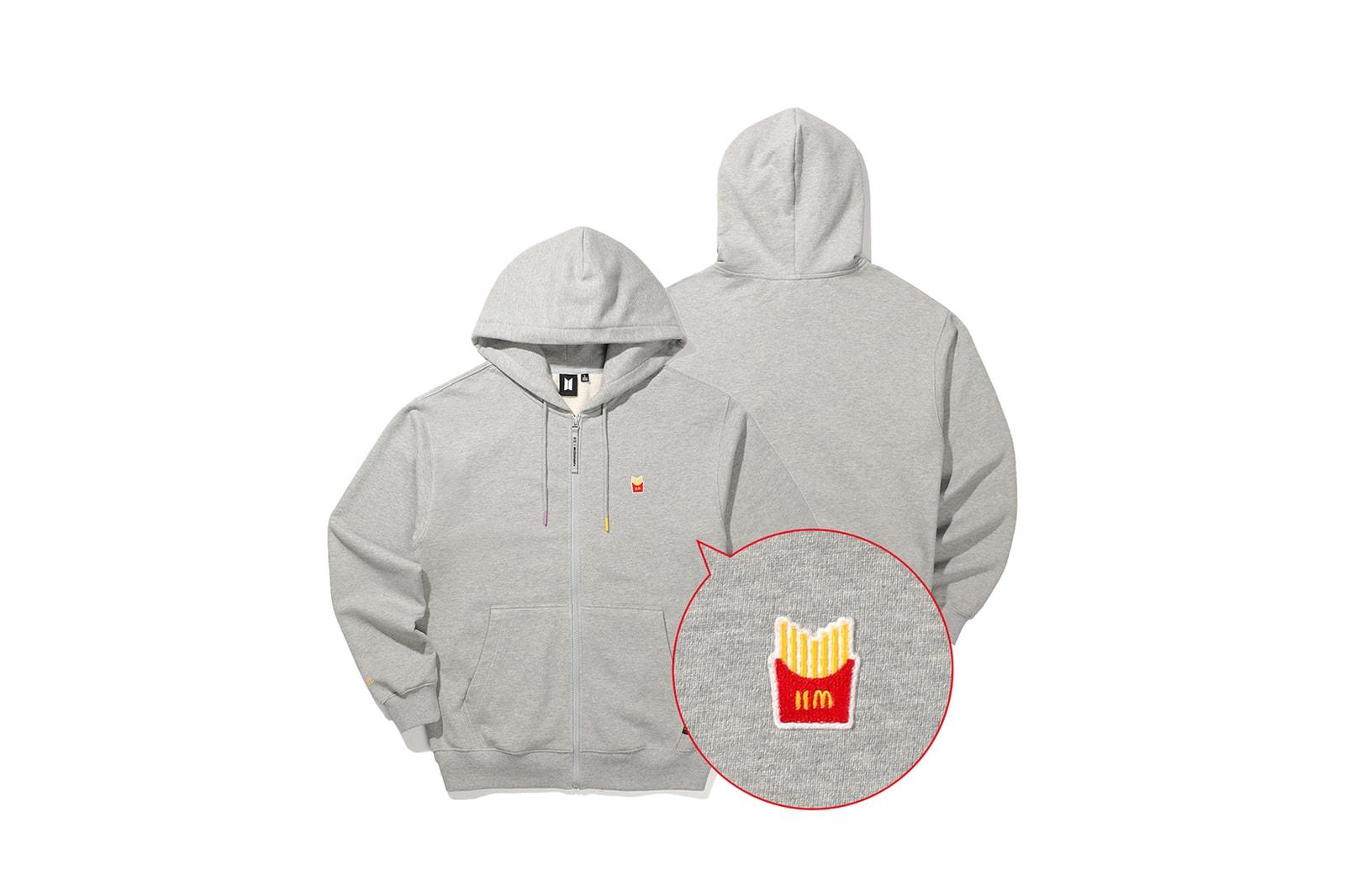 BTS x McDonald's Meal Collaboration Merchandise