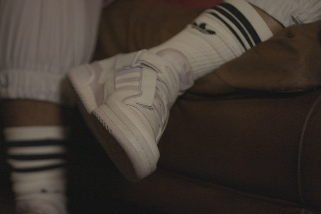 DJ Jordss Alicai Harley adidas Originals forum lo sneaker footwear fashion streetwear music event open forum