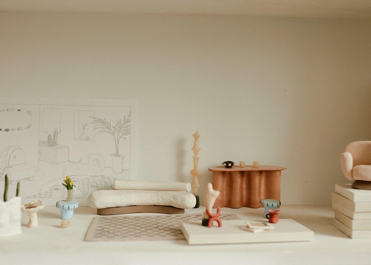 Eny Lee Parker Furniture Designer Ceramic Objects Lighting Oo Lamp New York Queens Interior Design Decor Studio Mirror Plants