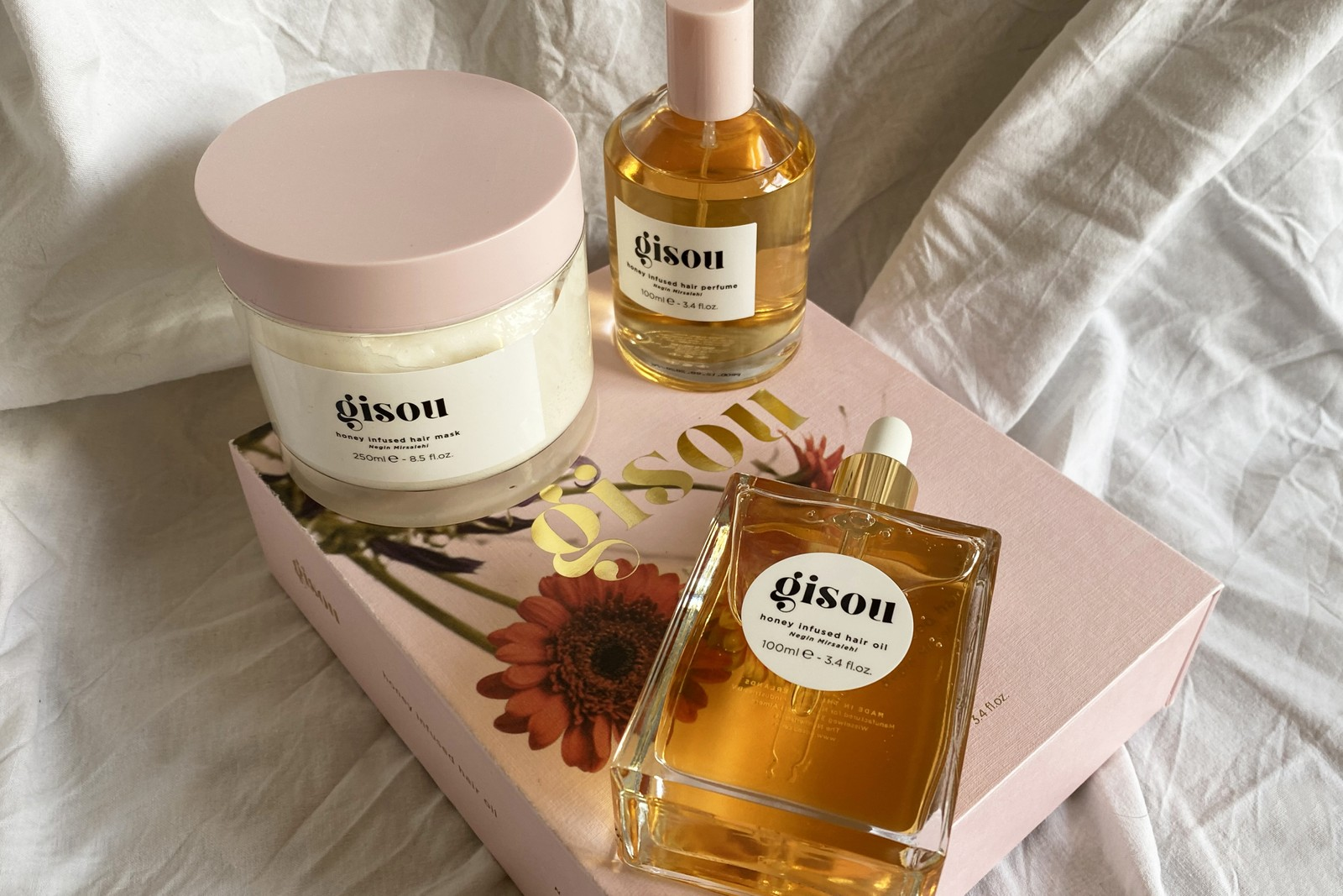 Gisou Hair Care Brand UK Launch Founder Interview Honey Bees Negin Mirsalehi Oil Mask
