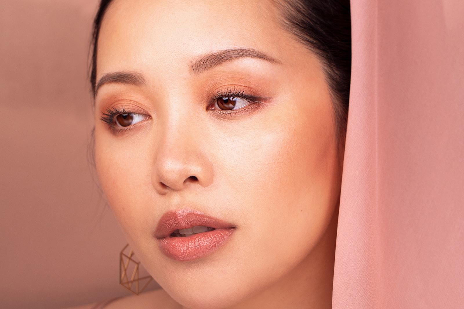 Michelle Phan EM Cosmetics Beauty Makeup YouTuber Pick Me Up Volume Length Mascara Lip Cushion Illustrative Eyeliner Heaven's Glow Radiant Veil Blush