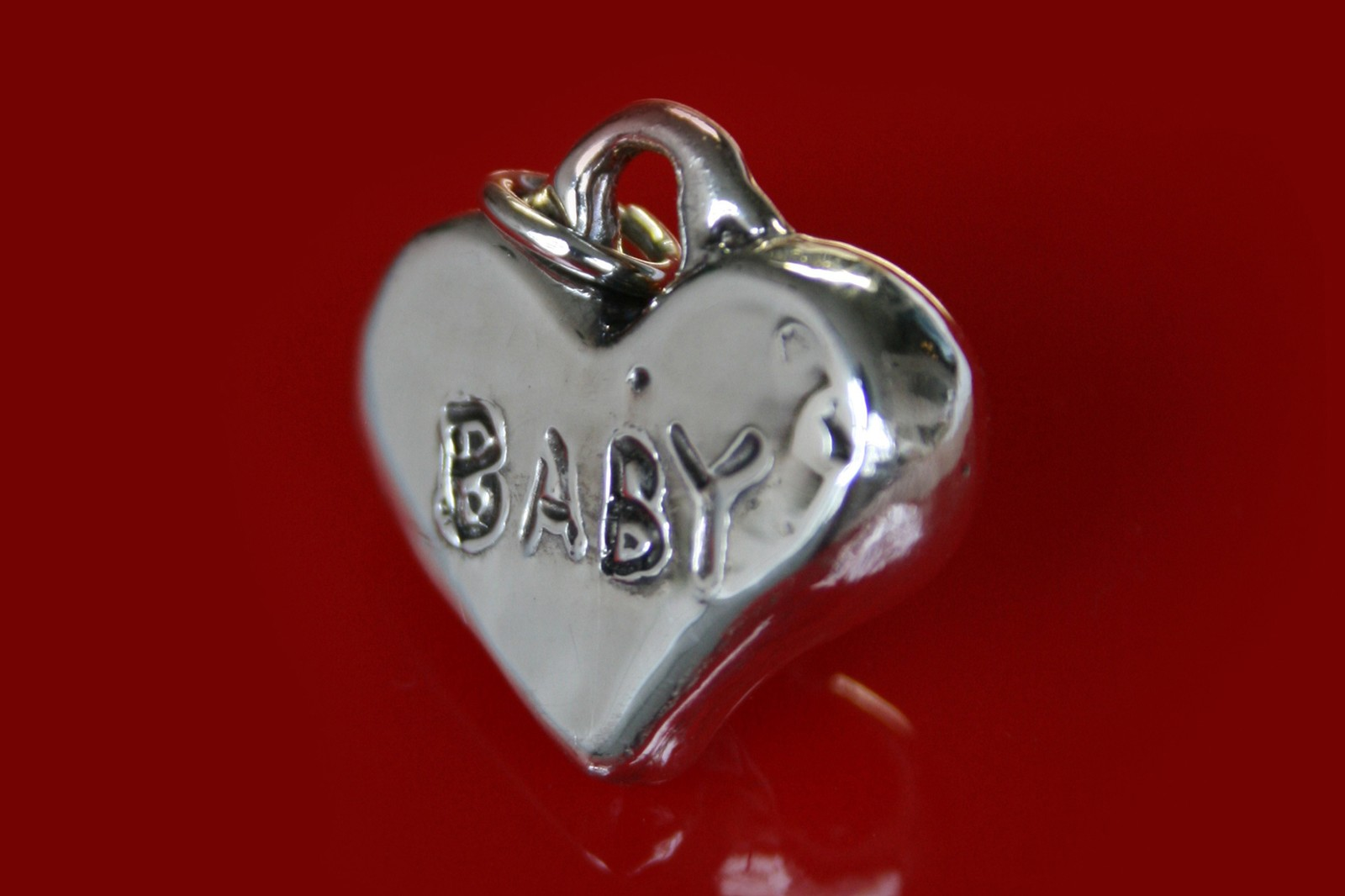 Mutter Jewelry Baby Love Necklace Silver Helena Vieira