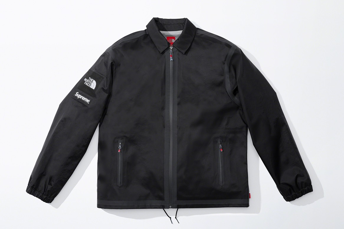 supreme the north face tnf spring collaboration jackets outerwear sweatshirts accessories release date info