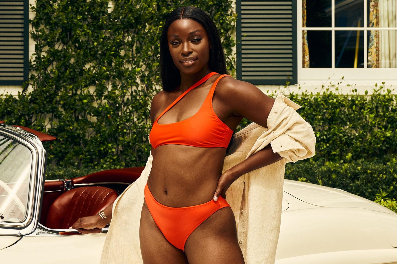 frankies bikinis hailee steinfeld ookioh bikinis shorts beachwear swimwear swimsuits