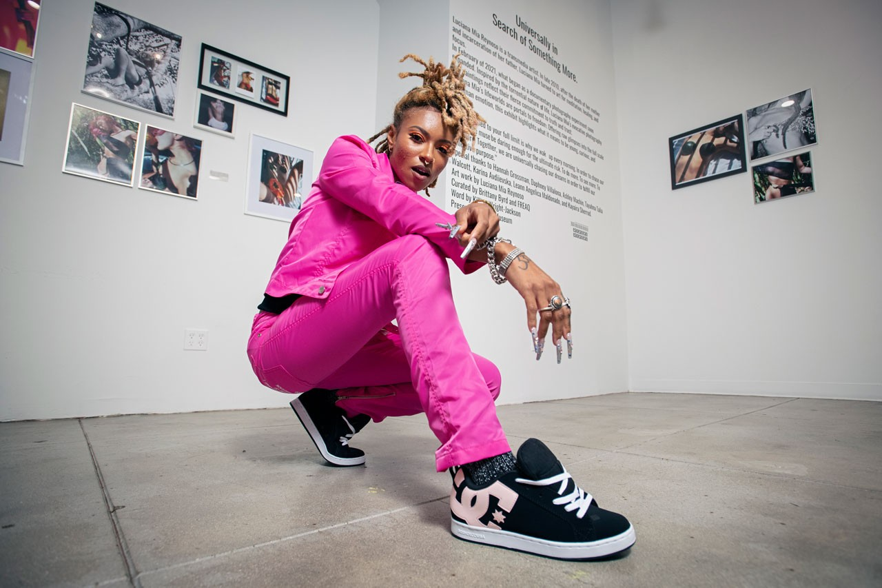 brittany byrd dc shoes womens fall winter campaign collection release