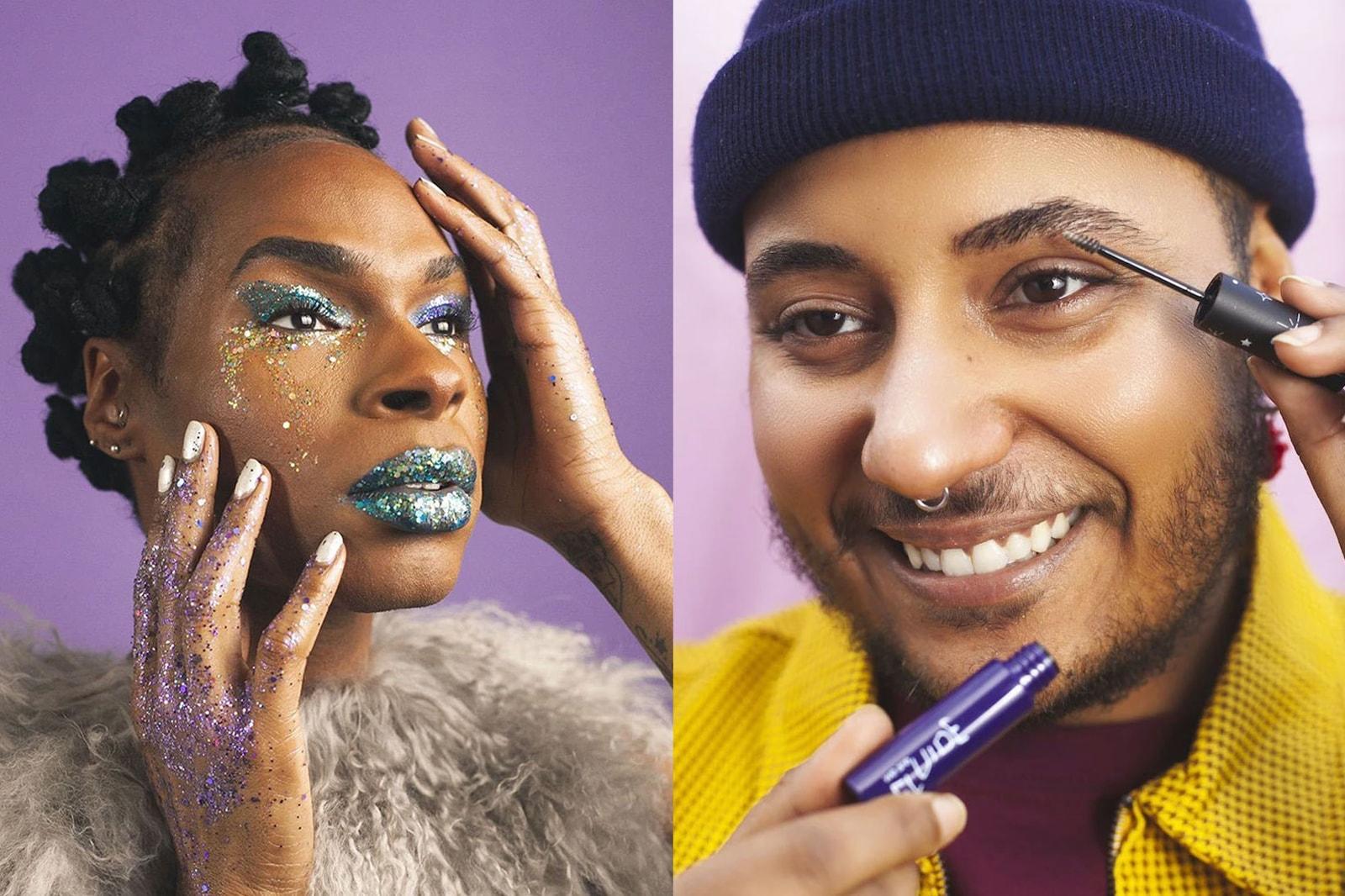 TooD eyeshadow metallic pink Gender neutral fluid Inclusive genderless Beauty Brands makeup skincare diversity inclusivity