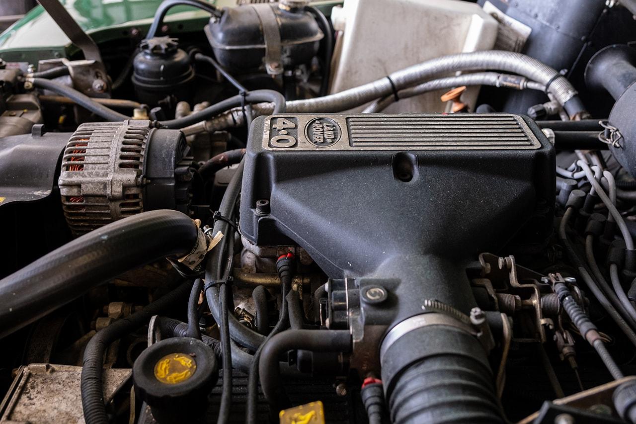Land Rover Defender 90 Customized Inii King Kim Coniston Green New Balance Aime Leon Dore Campaign Car Automotive D90 Custom Interior Exterior Truck