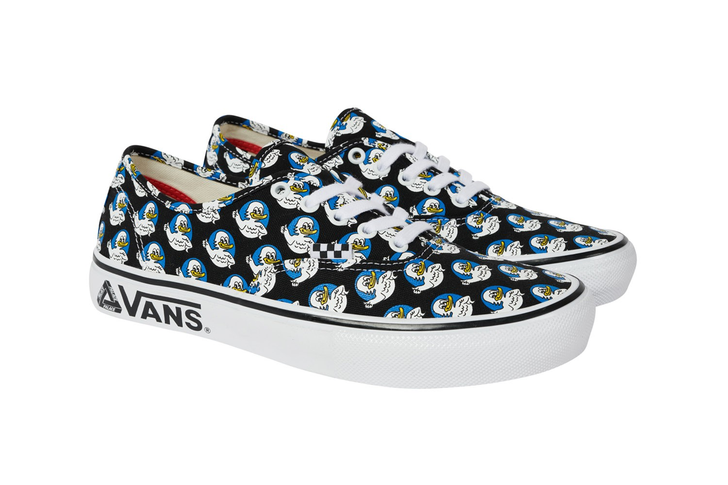 Vans x Palace Skateboards Collaboration Release Apparel Footwear Sneakers Pink White Blue Black