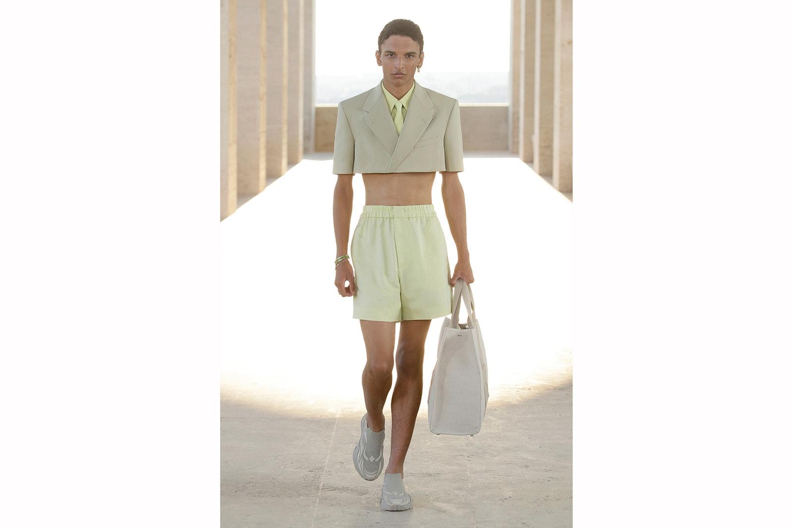 Prada Fendi Spring/Summer 2022 Menswear Collection
