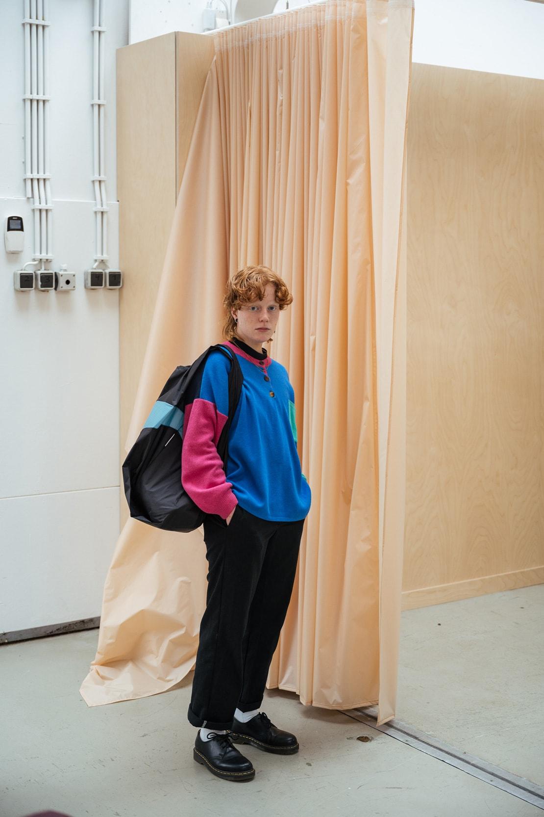 SUSAN BIJL New Shopping Bag Reusable Sustainable Grocery Nylon Rotterdam The Netherlands Dutch Designer