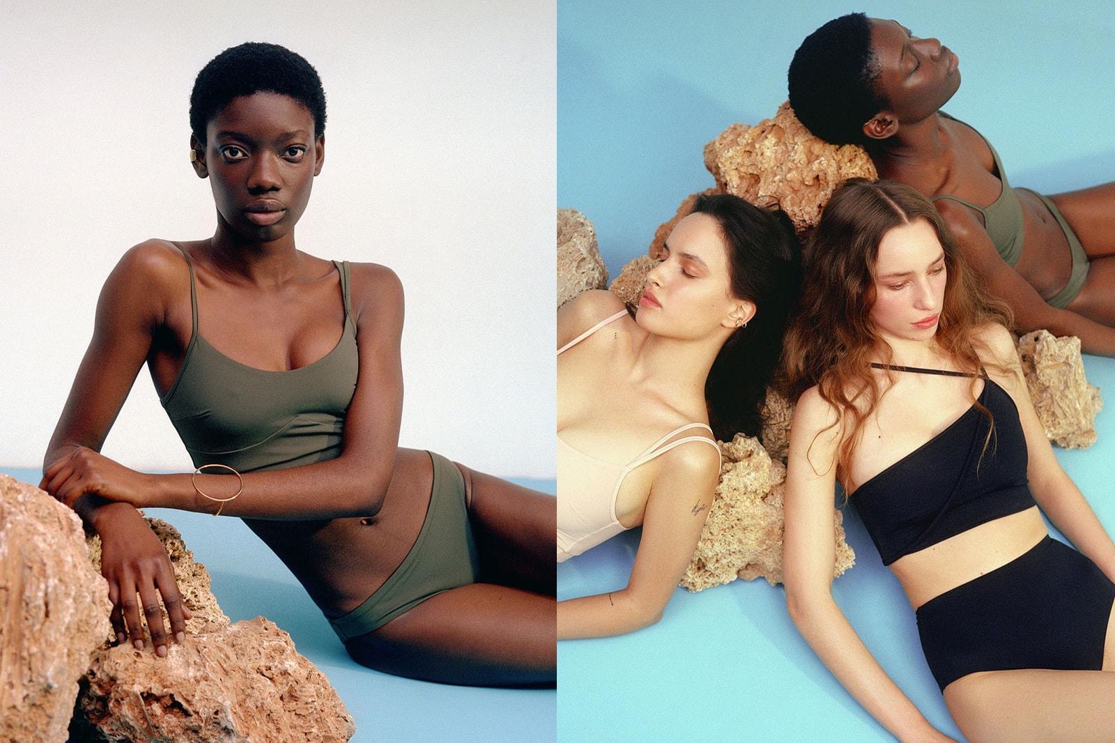 best sustainable swimwear brands summer eco-friendly bikinis swimsuits norba ookioh girlfriend collective