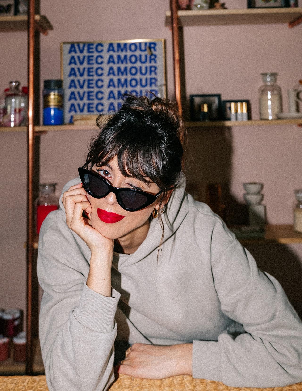 Violette FR Serrat French Makeup Artist Beauty Brand Founder Bisous Skateboards T-Shirt