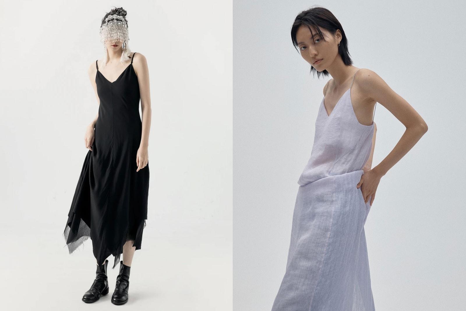 Summer Dresses Trends 2021 Beach Sundress Christopher Esber Deconstruct Knit Dress Yellow