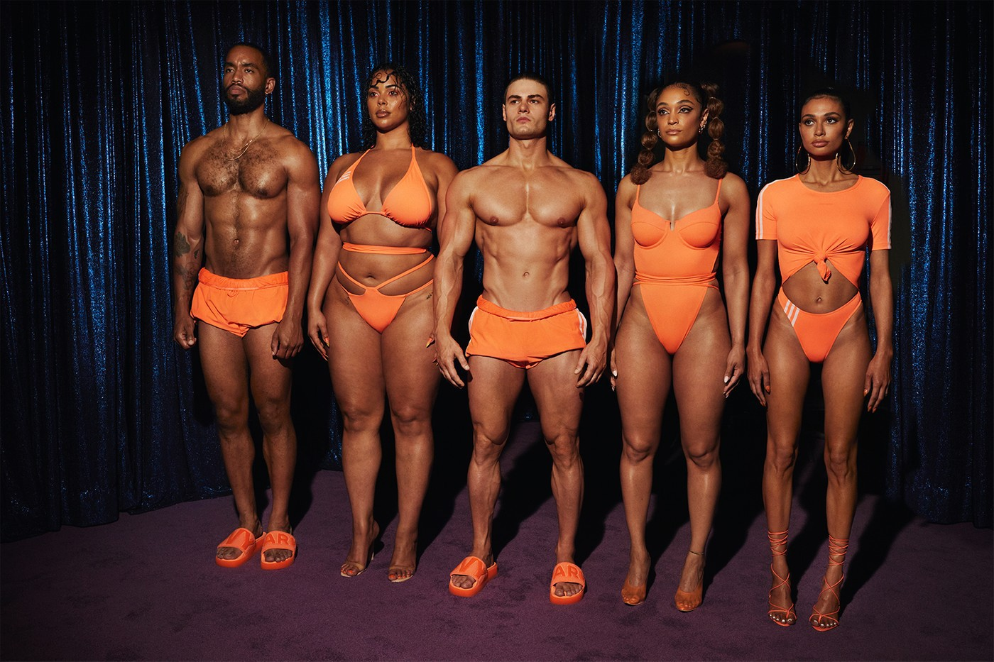 Beyoncé IVY PARK x adidas FLEX PARK Swimwear Collection