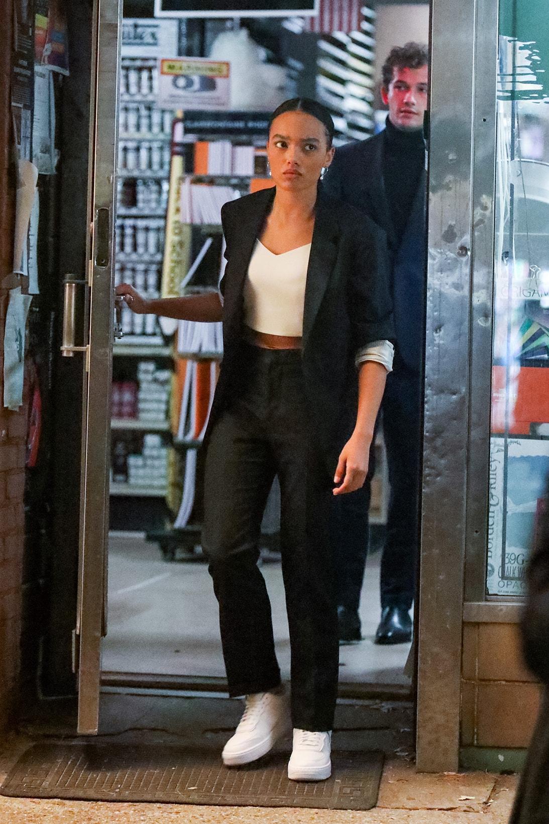 Gossip Girl Reboot HBO Max 2021 Whitney Peak Zoya Lott Julien Calloway Jordan Alexander Luna La Zión Moreno Monet de Haan Savannah Smith Costumes Outfits Fashion Style