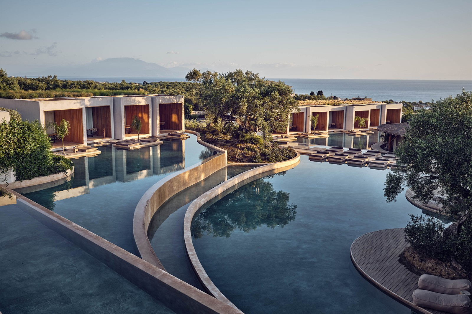 Canaves Oía Epitome Katikies Mykonos Hotel Luxury Resort Villa Greek Island Greece Travel Infinity Pool Ocean Sea Sunset Private
