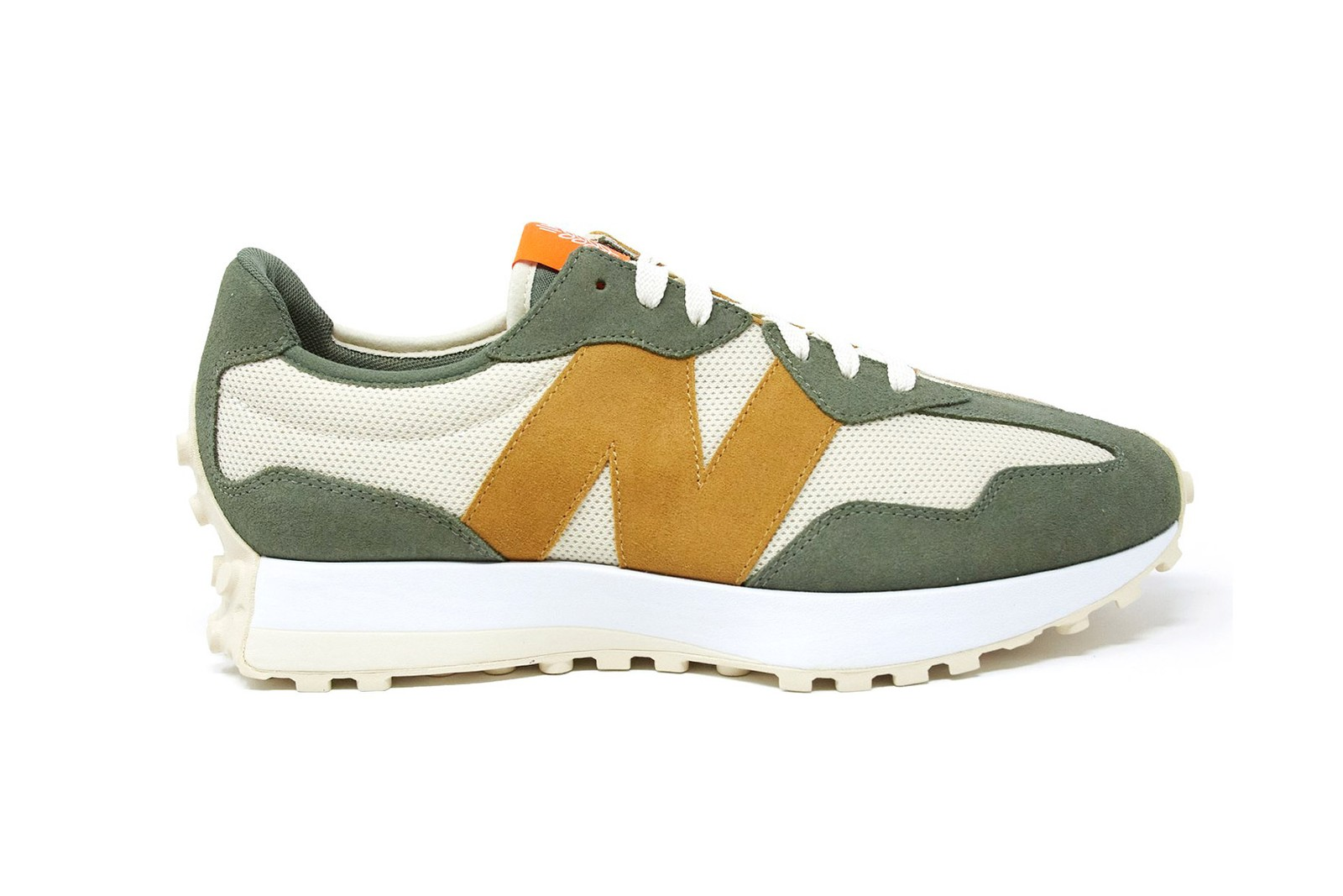 Todd Snyder New Balance 327 Sneakers Kicks Shoes Footwear Olive Green Brown