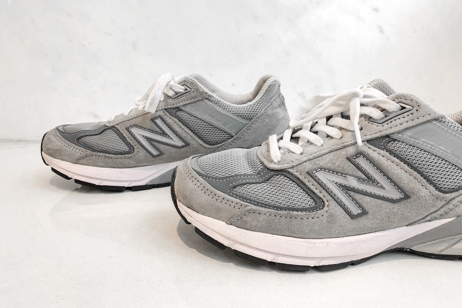 New Balance 990v5 990 Sneakers Footwear Shoes Kicks Women's Sneaker Running Shoes Grey Castlerock