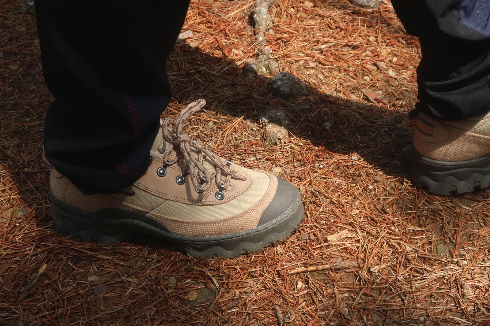 nike lahar low womens hiking shoes grain beige sneakers review