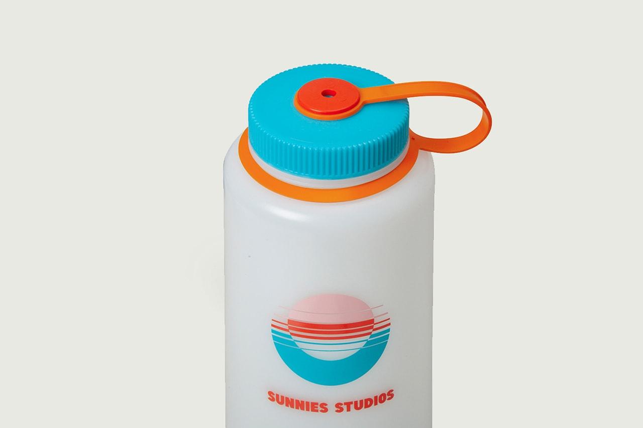 Sunnies Studios Nalgene Water Bottle Limited-Edition Blue Orange