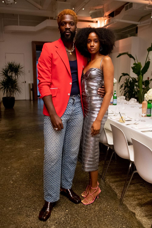 ta new york one year anniversary celebration dinner telsha anderson black fashion fair creator house