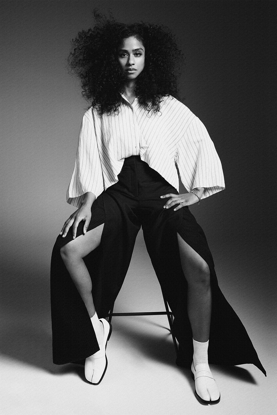 DJ Designer Violette Director Vashtie Kola Marine Serre Jacket Nanushka Tank Top Shorts Danielle Cathari Sweater Bottega Veneta
