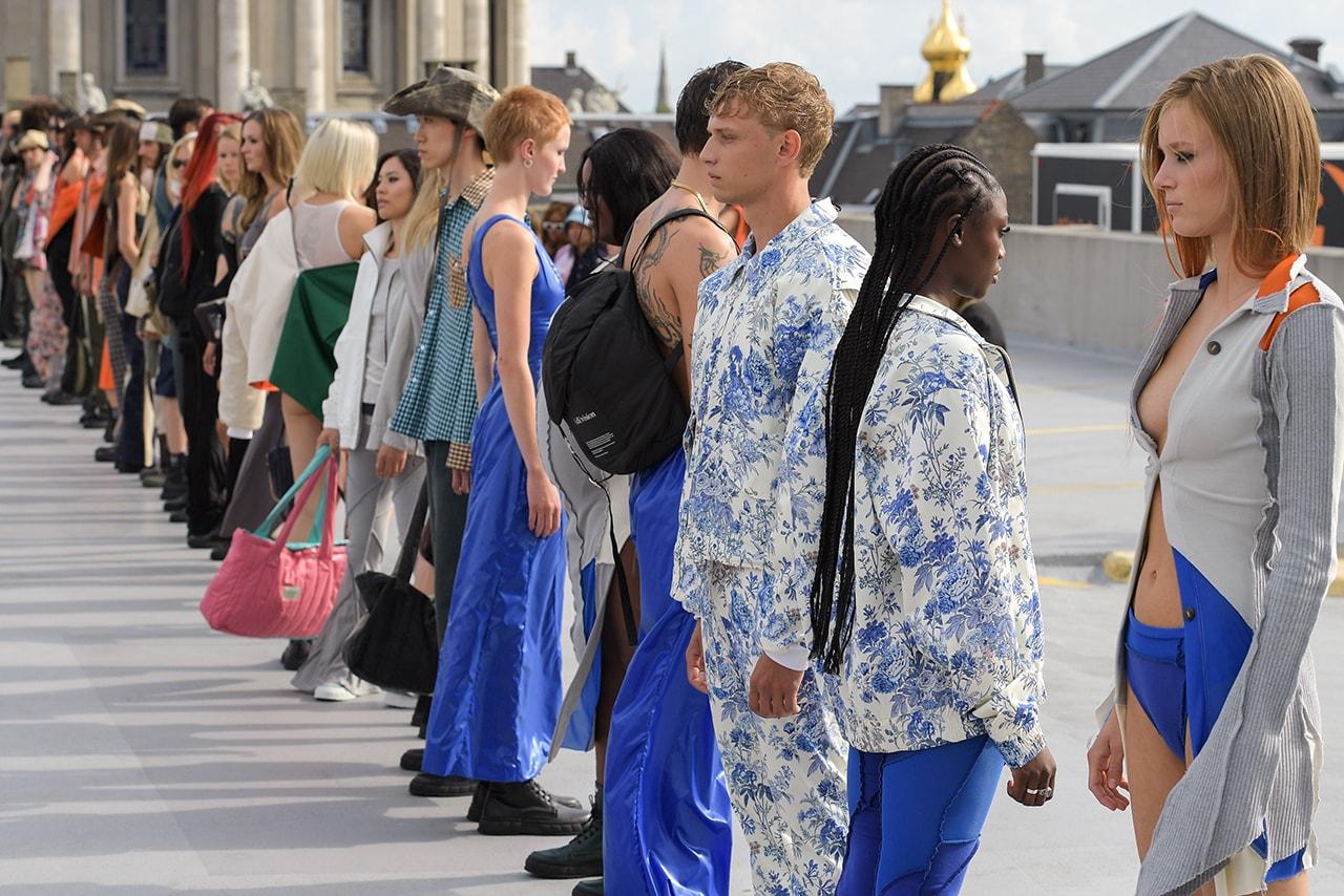 (di)vision Spring Summer 2022 runway show collection division Copenhagen Danish Brand Fashion Design Simon Nanna Wick upcycling