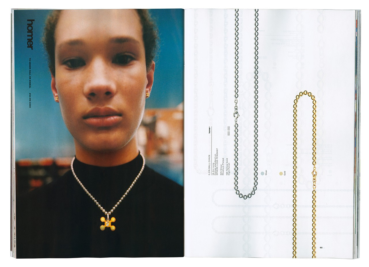 Frank Ocean Homer Independent Luxury Brand Company Selena Forrest Catalog Tyrone Lebon Jewelry