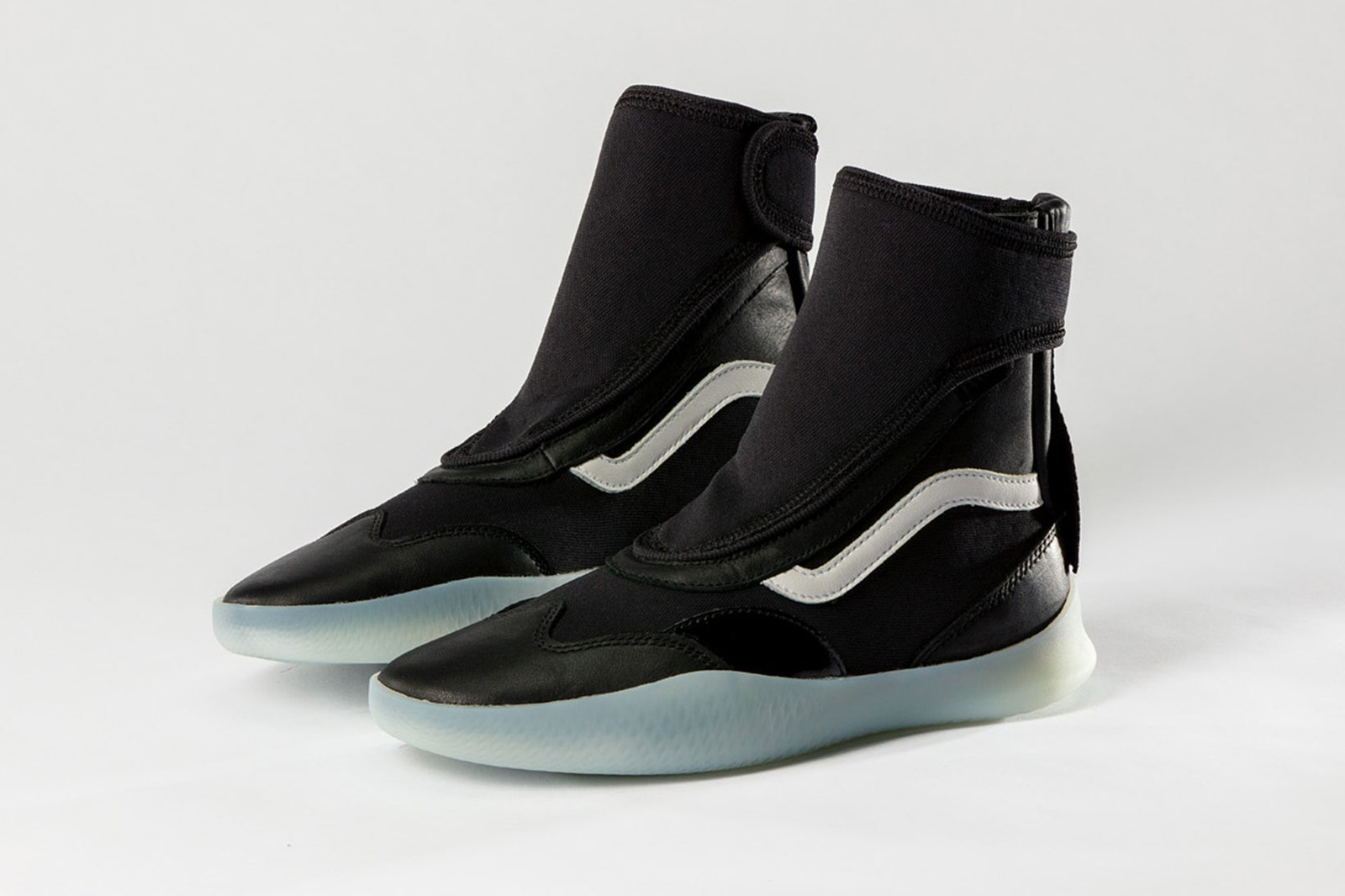 Vault by Vans Boot Skoot LX Surf Shoes White Black Release Date Info