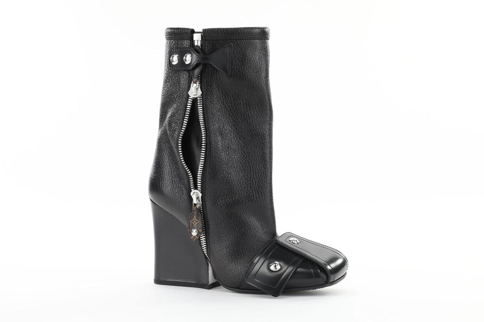 Emma Chamberlain Louis Vuitton Fall Winter Shoes Pillow Boots Monogram Beaubourg Derby