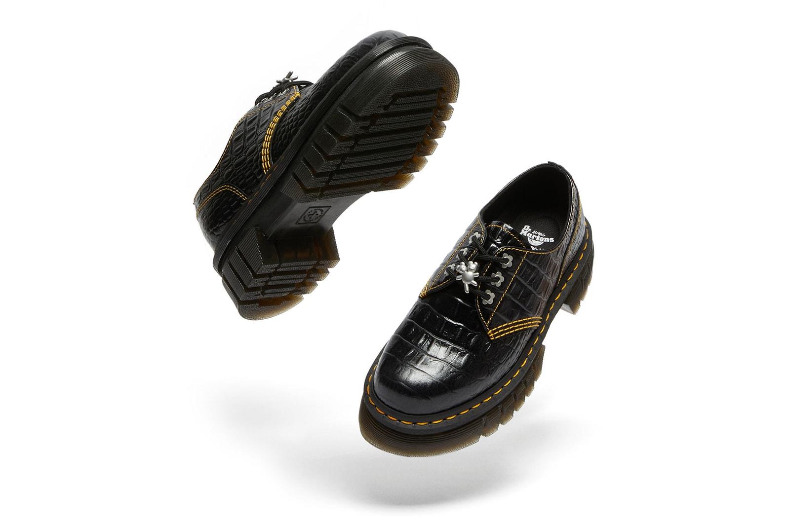 Heaven by Marc Jacobs Dr. Martens Audrick 8i HMJ Croc Boots Collaboration Release Date