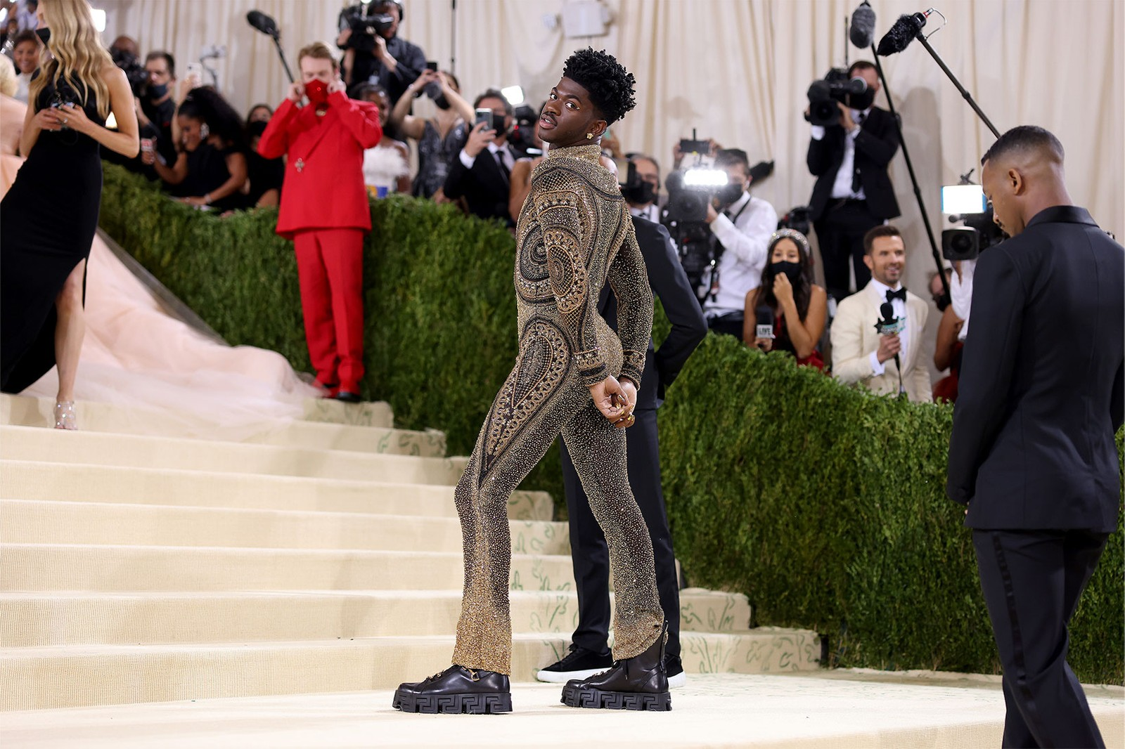 Met Gala Debut First-Ever Red Carpet Looks Celebrities Influencers BLACKPINK Rose Emma Chamberlain Megan Thee Stallion