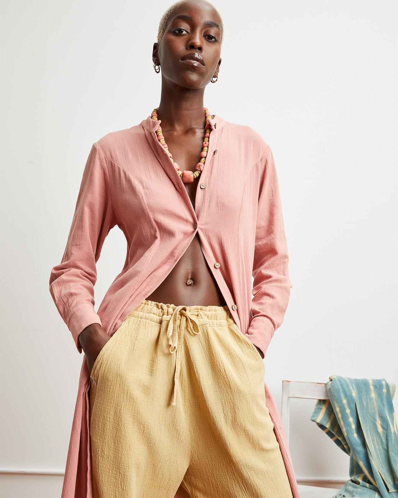 New York Fashion Week SS22 Spring Summer 2022 Emerging Black Designer A.Potts Lookbook