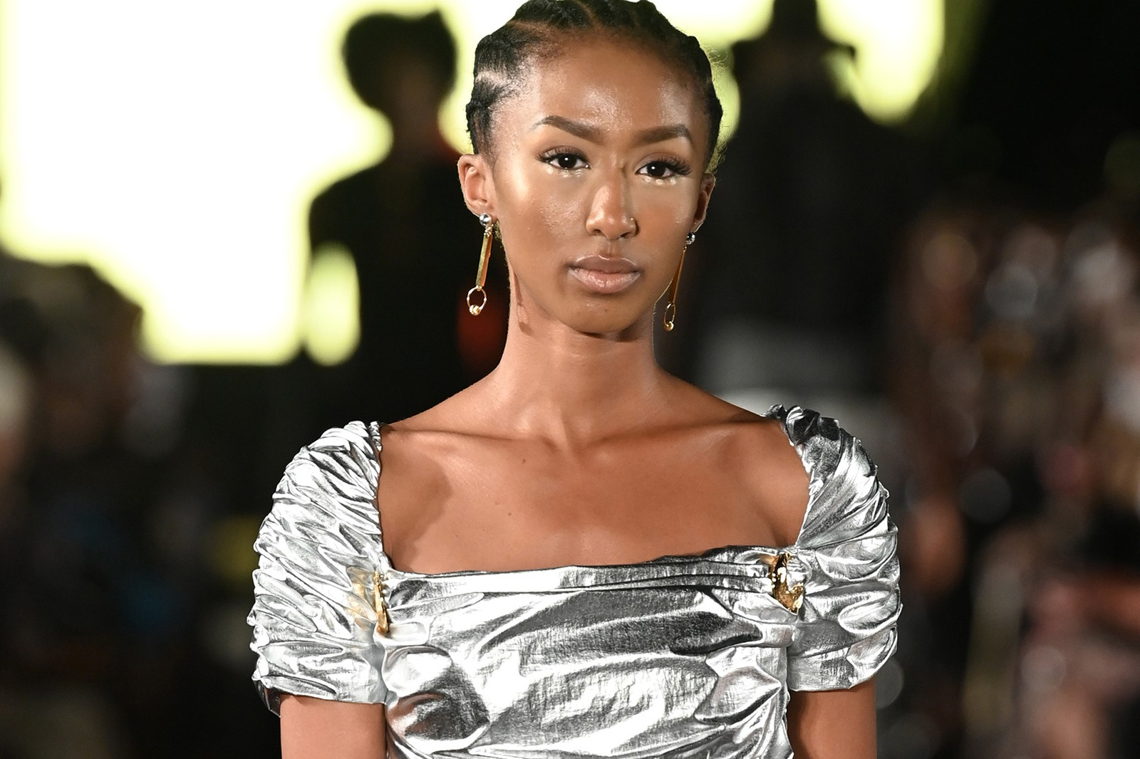 NYFW SS22 Spring Summer Best Beauty Trends for Hair Makeup Beauty Moschino Gigi Hadid Thom Browne