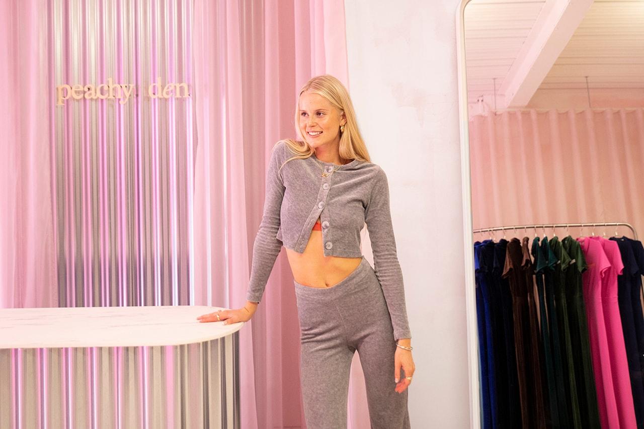 Peachy Den London Womenswear Brand Pop-Up Store Shop Isabella Weatherby Kernel Jumpsuit