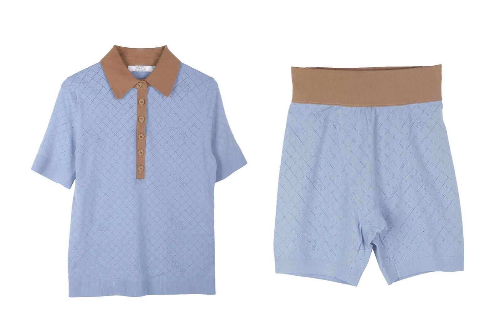 PH5 PJ5 Hyaluronic Infused Pajamas Tee Shorts