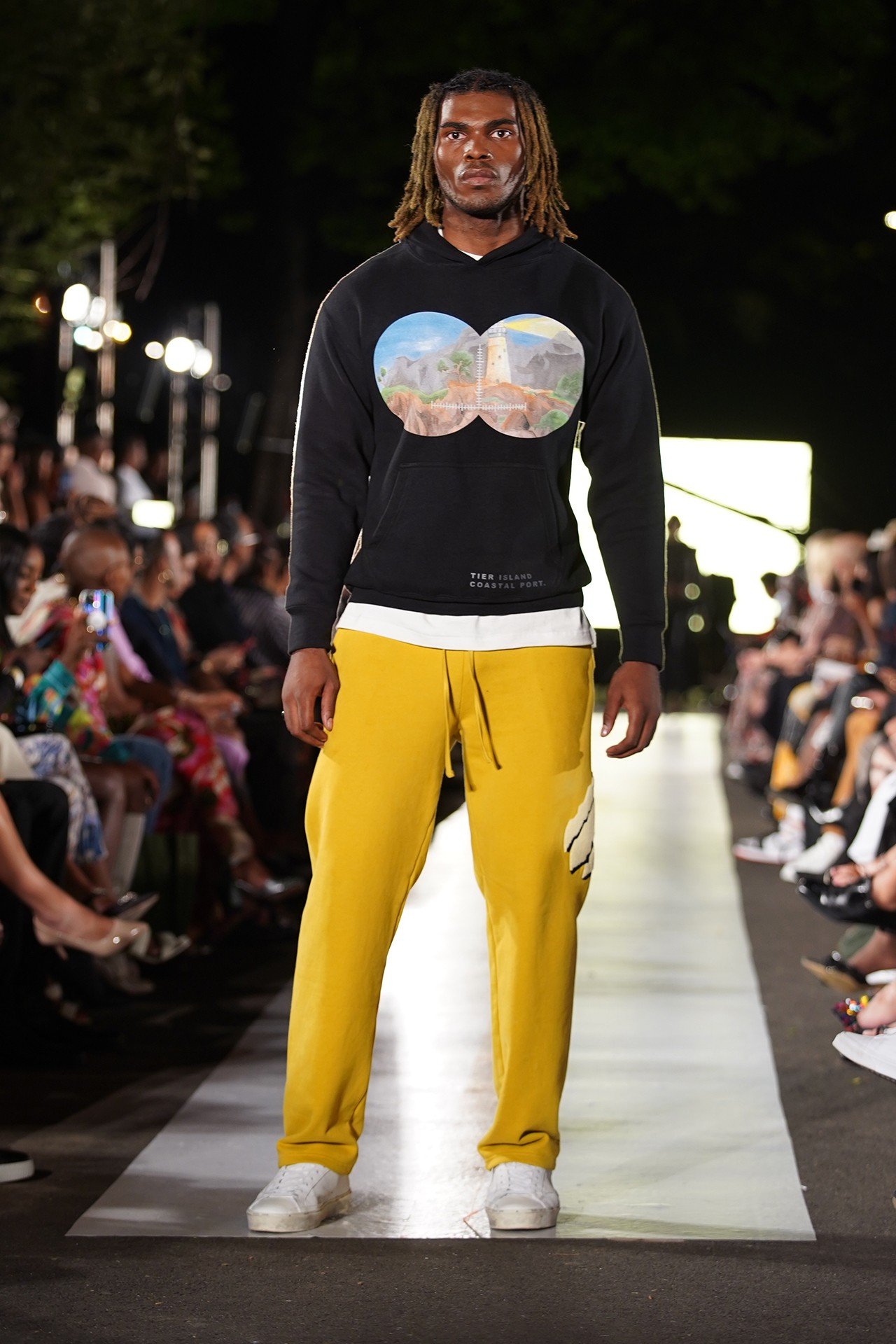 TIER Harlem's Fashion Row Runway Show New York NYFW Nigeria Ealey Victor James Esaīe Jean Simon Black Owned Brand Brooklyn