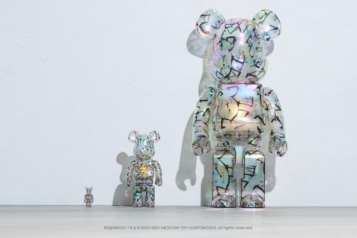 Jimmy Choo Eric Haze Poggy Sandra Choi Bearbrick Medicom Toy Collaboration Release Date Info