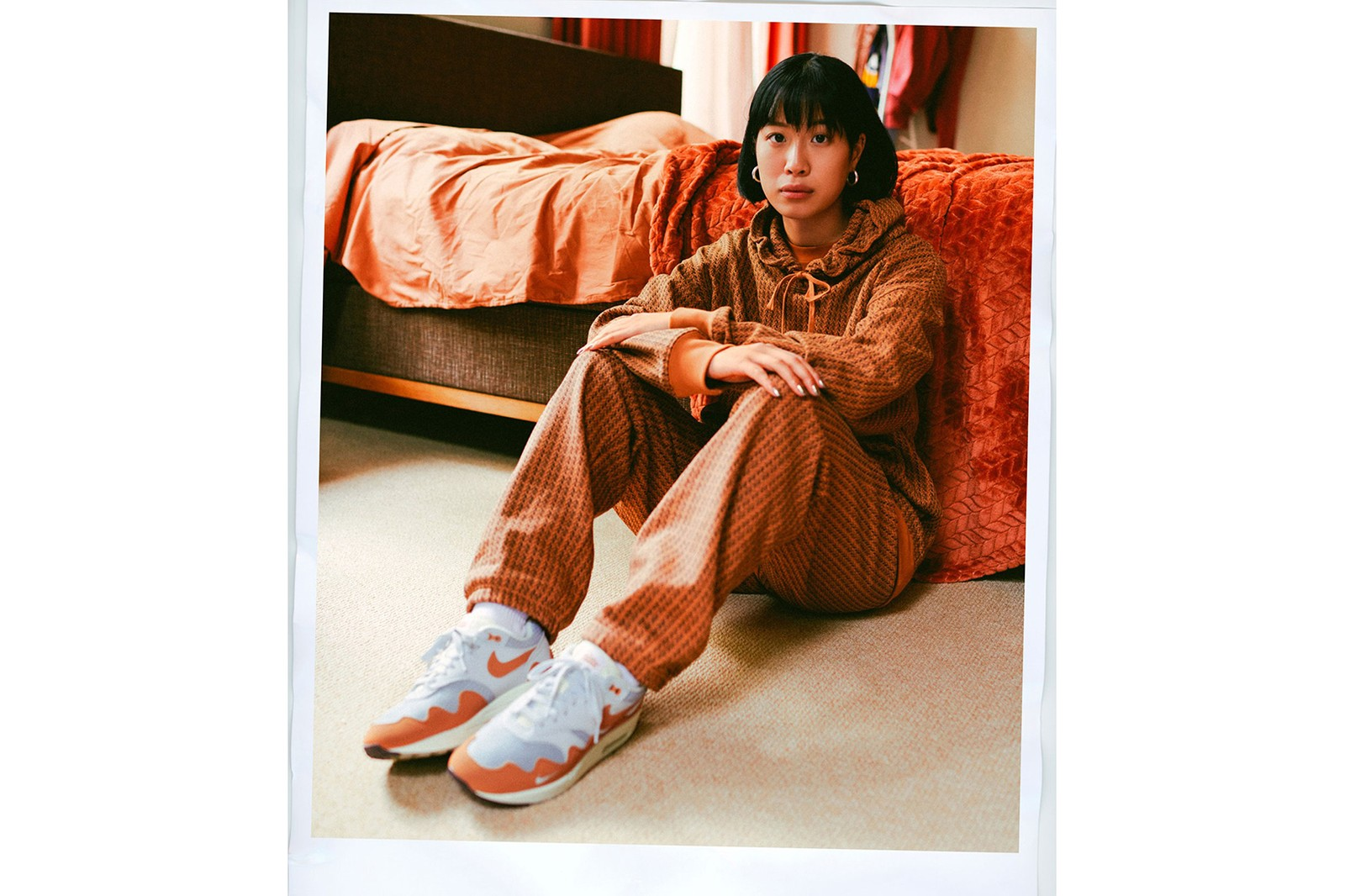 Patta Nike Air Max 1 AM 1 Monarch Orange White Sneakers Footwear Collaboration