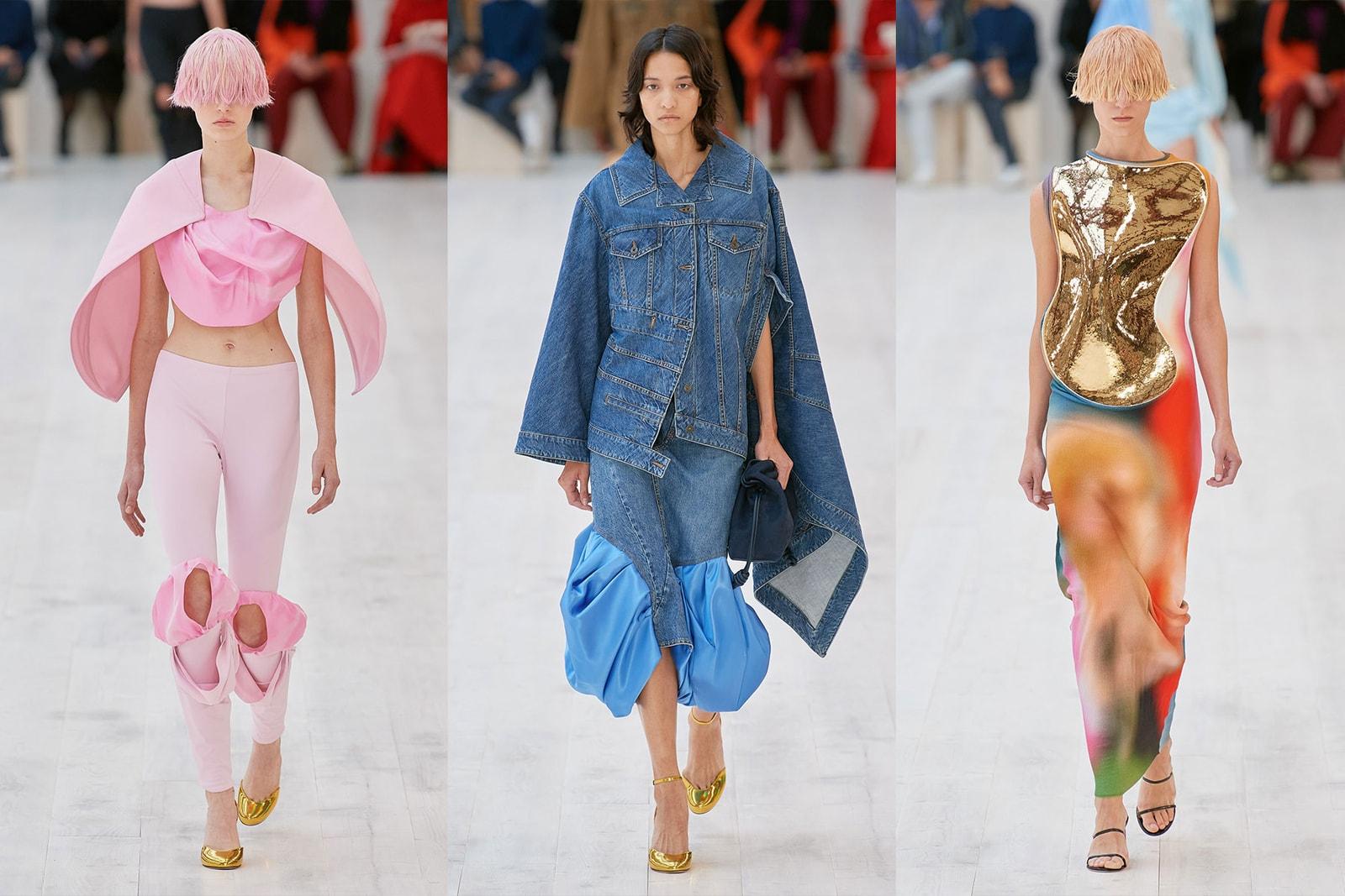 Paris Fashion Week Spring Summer 2022 SS22 Top Shows Trends Loewe Louis Vuitton Miu Miu Chanel