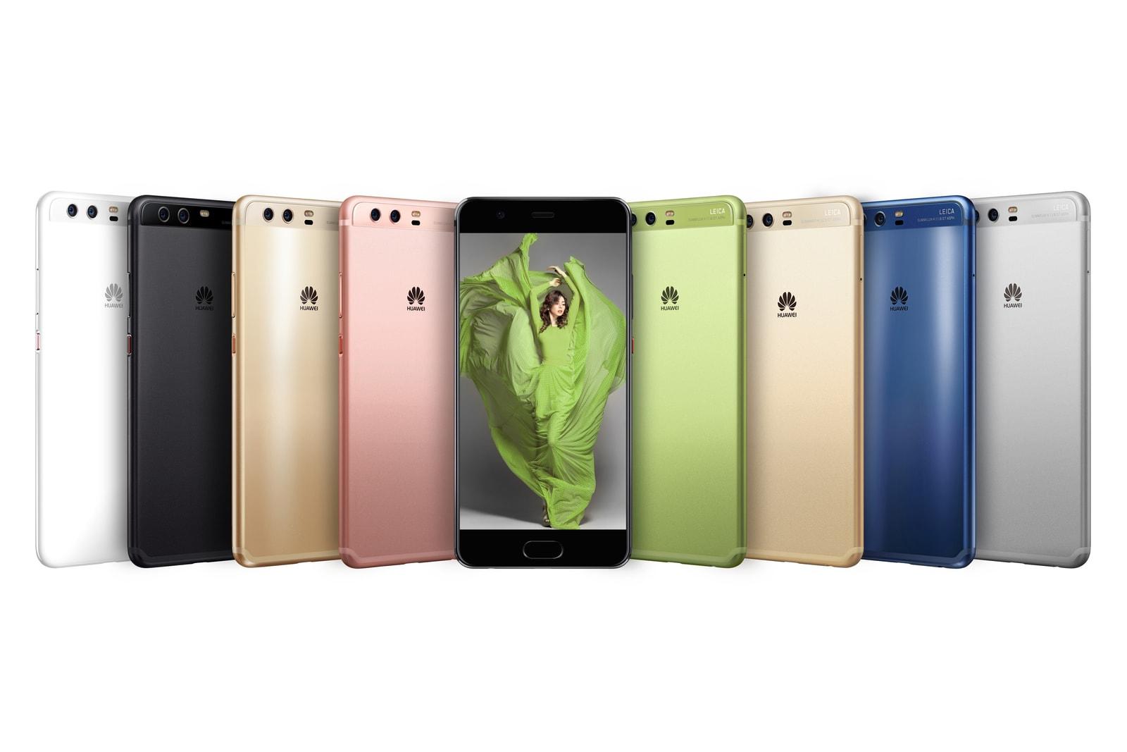 Huawei P10 and P10 Plus Pantone