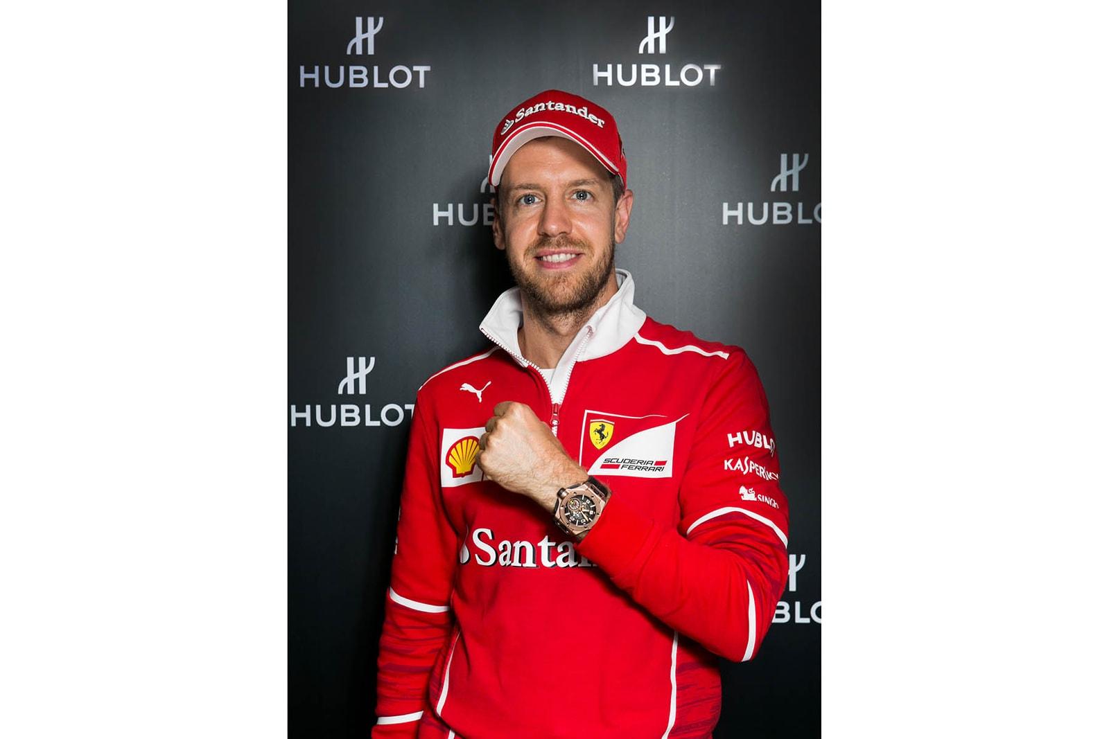 HUBLOT Big Bang Ferrari 腕錶登陸中國