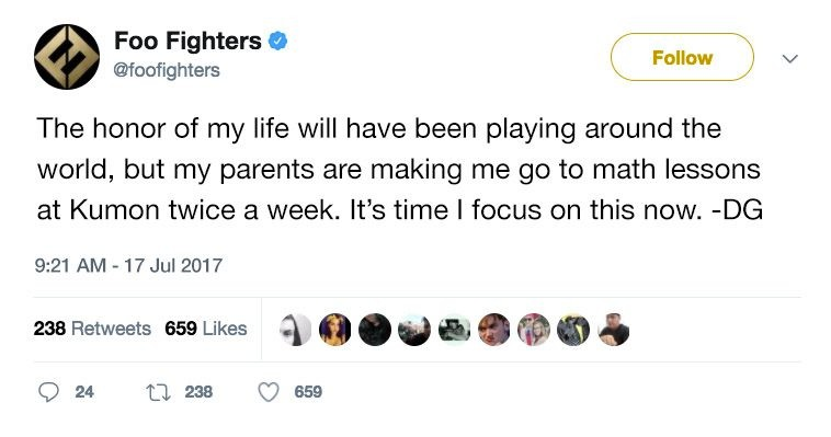 一个时代的终结?传闻 Foo Fighters 或将面临解散危机